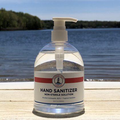 Harbor Hemp hand sanitizer